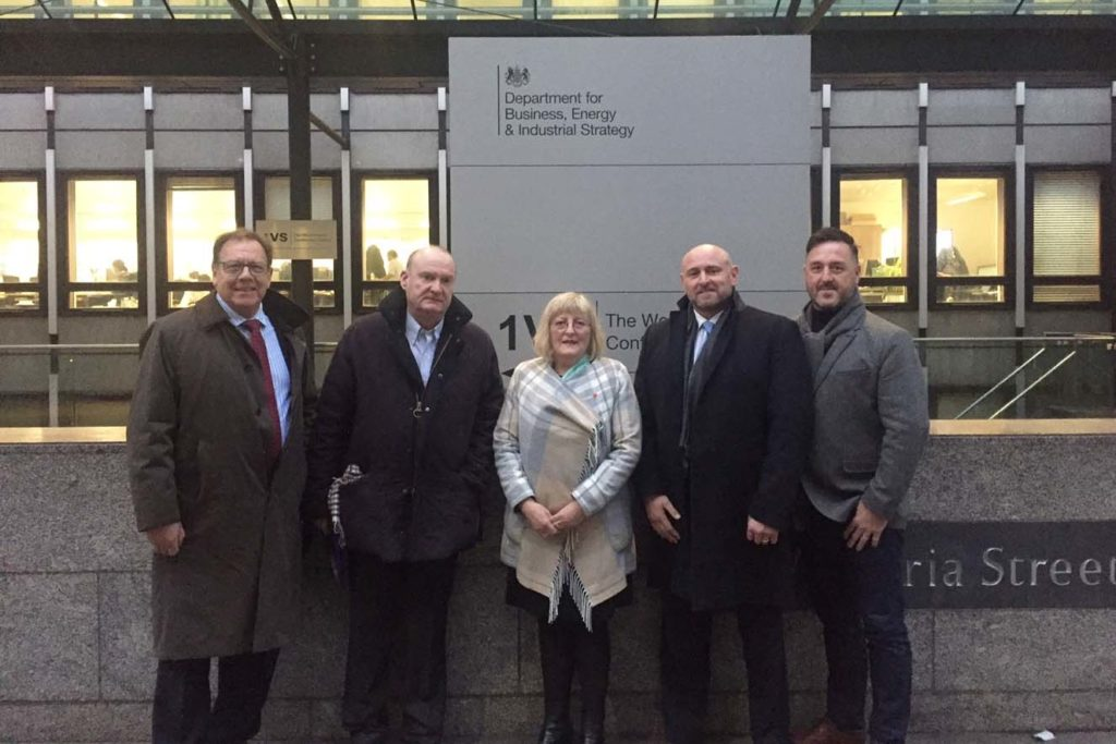Consultation at BEIS