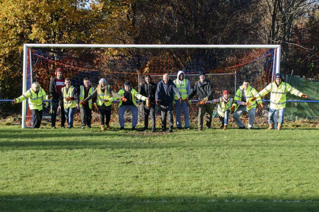 Saving local football club