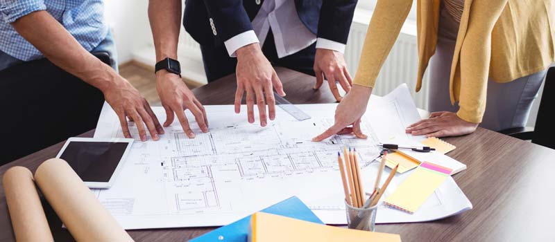 making changes during planning permission